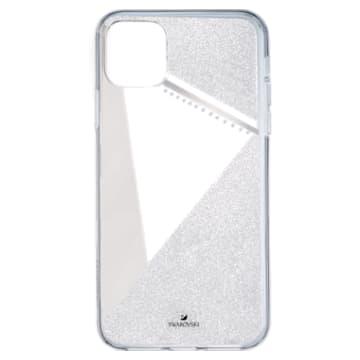 Subtle 스마트폰 범퍼 케이스, iPhone® 11 Pro Max, 실버 톤 - Swarovski, 5536849