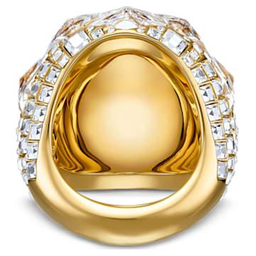 Bague Tropical, blanc, métal doré - Swarovski, 5539036