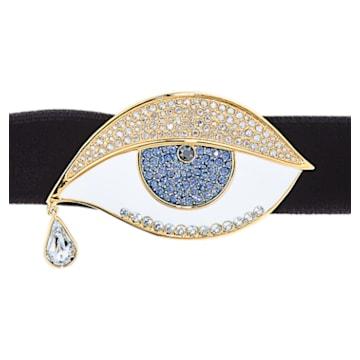 Girocollo Surreal Dream, occhio, nero, placcato color oro - Swarovski, 5540644