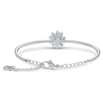 Bracelet-jonc Eternal Flower, Fleur, Jaune, Finition mix de métal - Swarovski, 5542012