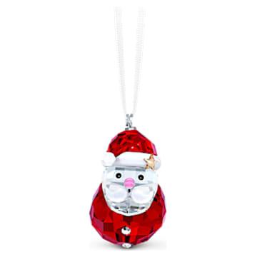 Schaukelnder Weihnachtsmann Ornament - Swarovski, 5544533