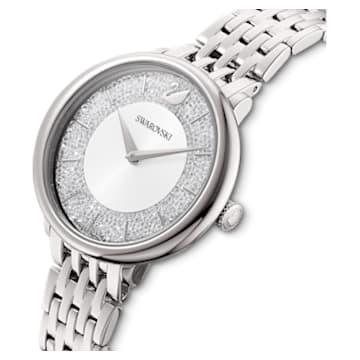 Orologio Crystalline Chic, Bracciale di metallo, Tono argentato, Acciaio inossidabile - Swarovski, 5544583