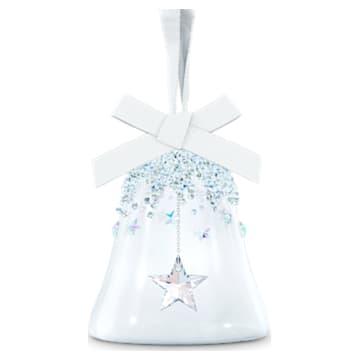 聖誕鐘掛飾, 星星, 小 - Swarovski, 5545500