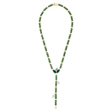 Collier Beautiful Earth, vert, métal doré - Swarovski, 5545992