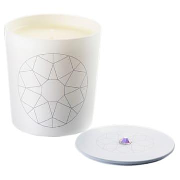Bougie Crystal Garden, blanc, Thé blanc - Swarovski, 5547116