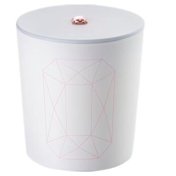 Bougie Crystal Garden, rose, Jasmin rose - Swarovski, 5547117