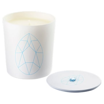 Vela Crystal Garden, azul, lirio azul ultramar - Swarovski, 5547118