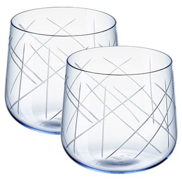 Ensemble de verres (2) Nest, bleu - Swarovski, 5548167