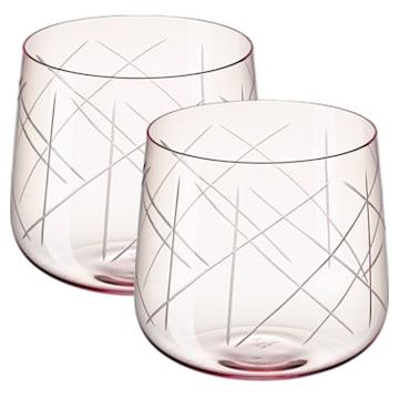 Ensemble de verres (2) Nest, rose - Swarovski, 5548169
