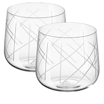 Nest Tumbler Set (2), White - Swarovski, 5548170
