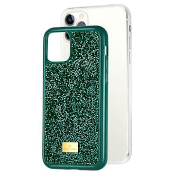 Glam Rock 智能手機防震保護套, iPhone® 11 Pro, 綠色 - Swarovski, 5549939
