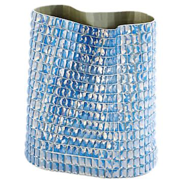 Vaso Brillo, media, blu - Swarovski, 5550452