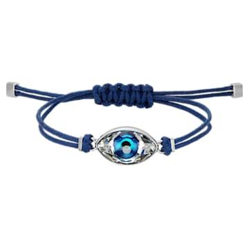 Swarovski Power Collection Evil Eye Armband, Böser Blick, mittel, Blau, Edelstahl - Swarovski, 5551804