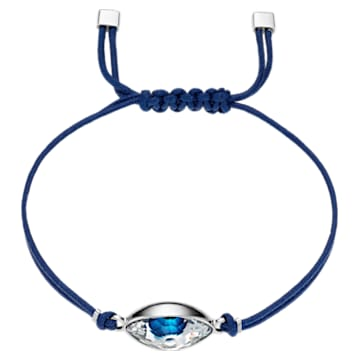 Swarovski Power Collection Evil Eye Bracelet, Blue, Stainless steel - Swarovski, 5551804