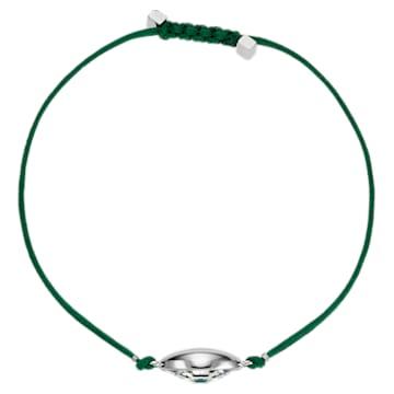 Swarovski Power Collection Evil Eye bracelet, Evil eye, Medium, Green, Stainless steel - Swarovski, 5551805