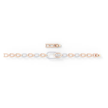 Bracelet Swarovski Sparkling Dance North, blanc, finition mix de métal - Swarovski, 5554217
