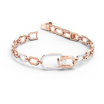 Swarovski Sparkling Dance-North-armband, Wit, Gemengde metaalafwerking - Swarovski, 5554217