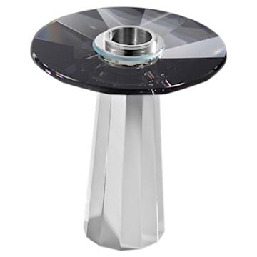 Plinth Candleholder, Small, Black - Swarovski, 5554687