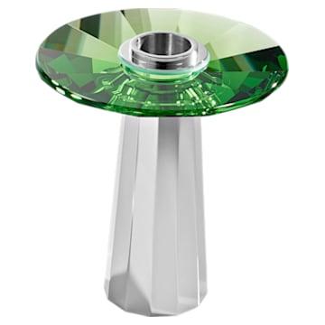 Plinth Candleholder, Small, Green - Swarovski, 5554689