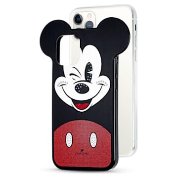 Pouzdro na chytrý telefon Mickey , iPhone® 12/12 Pro, vícebarevný - Swarovski, 5556465