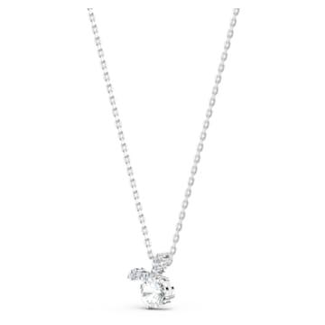 Zodiac II 链坠, 金牛座, 白色, 多种金属润饰 - Swarovski, 5556905