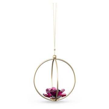 Garden Tales Décoration Boule Rose, grand modèle - Swarovski, 5557805