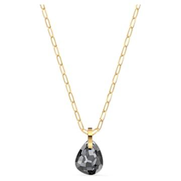 Pendentif T Bar, gris, métal doré - Swarovski, 5558340