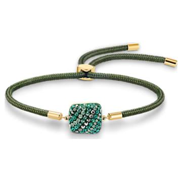 Bransoletka Earth Element z kolekcji Swarovski Power, zielona, w odcieniu złota - Swarovski, 5558350