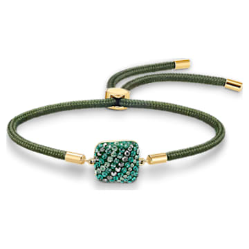 Swarovski Power Collection Earth Element Armband, grün, vergoldet - Swarovski, 5558350