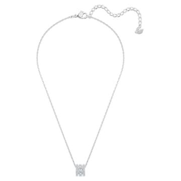 Further 链坠, 小码 , 白色, 镀铑 - Swarovski, 5559259