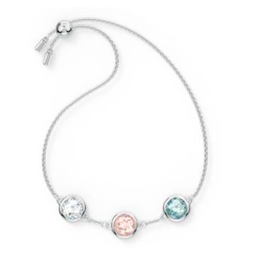 Tahlia-armband, Meerkleurig, Rodium-verguld - Swarovski, 5560937
