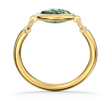 Tahlia Ring, grün, vergoldet - Swarovski, 5560945