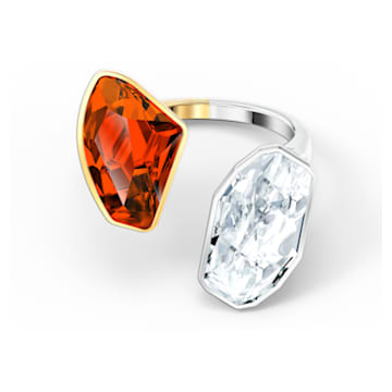 The Elements Ring, Red, Mixed metal finish - Swarovski, 5563512