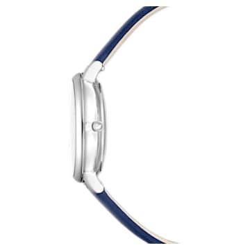 Crystalline Joy 手錶, 真皮錶帶, 藍色, 不銹鋼 - Swarovski, 5563699