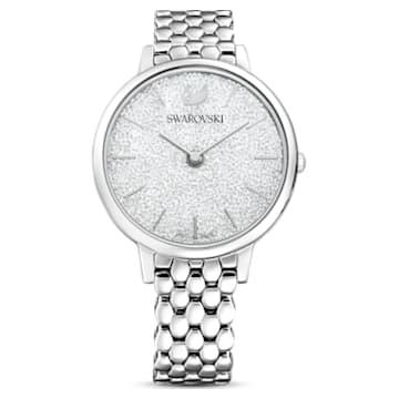 Crystalline Joy 手錶, 金屬手鏈, 銀色, 不銹鋼 - Swarovski, 5563711