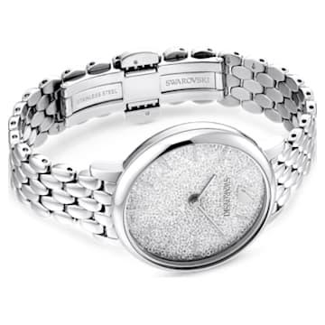 Montre Crystalline Joy, Bracelet en métal, Ton argenté, Acier inoxydable - Swarovski, 5563711