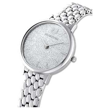 Crystalline Joy Uhr, Metallarmband, Silberfarben, Edelstahl - Swarovski, 5563711