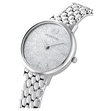 Orologio Crystalline Joy, Bracciale di metallo, Tono argentato, Acciaio inossidabile - Swarovski, 5563711