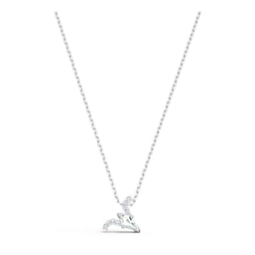 Zodiac II 链坠, 白羊座, 白色, 多种金属润饰 - Swarovski, 5563890