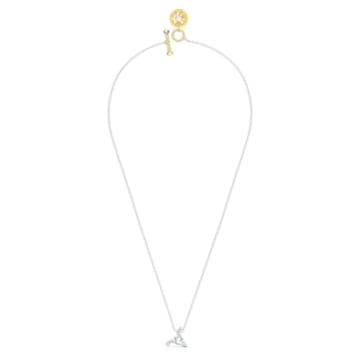 Zodiac II-hanger, Ram, Wit, Gemengde metaalafwerking - Swarovski, 5563890