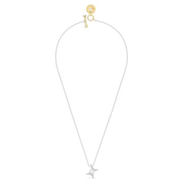 Zodiac II medál, Fehér, Vegyes fém kivitelben - Swarovski, 5563893