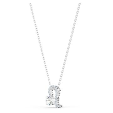 Pendentif Zodiac II, Lion, Blanc, Finition mix de métal - Swarovski, 5563894