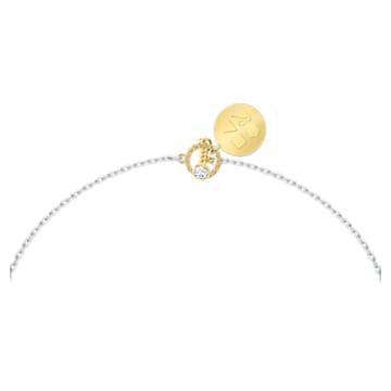 Zodiac II 鏈墜, 天秤座, 白色, 多種金屬潤飾 - Swarovski, 5563895