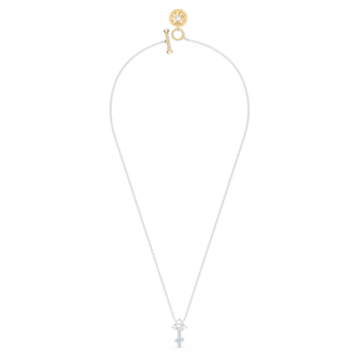 Zodiac II-hanger, Boogschutter, Wit, Gemengde metaalafwerking - Swarovski, 5563897