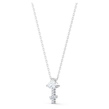 Zodiac II 链坠, 射手座, 白色, 多种金属润饰 - Swarovski, 5563897