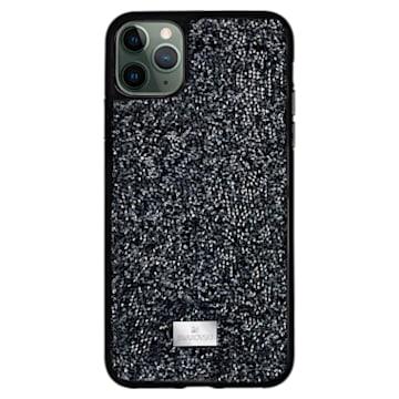 Étui pour smartphone Glam Rock, iPhone® 12 Pro Max, noir - Swarovski, 5565177