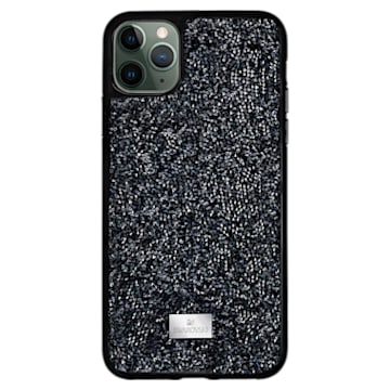 Funda para smartphone Glam Rock, iPhone® 12 Pro Max, negro - Swarovski, 5565177