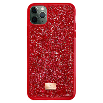 Glam Rock Smartphone Schutzhülle, iPhone® 12/12 Pro, rot - Swarovski, 5565182
