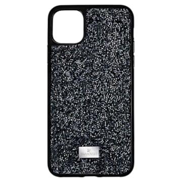 Glam Rock 스마트폰 케이스, iPhone® 12/12 Pro, 블랙 - Swarovski, 5565188
