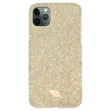 High smartphone hoesje, iPhone® 12/12 Pro, goudkleurig - Swarovski, 5565190